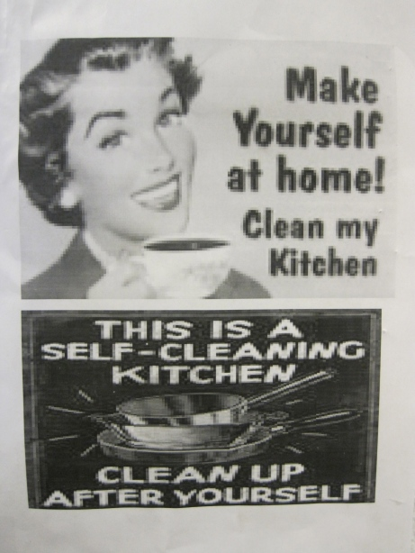 HOW TO HAVE A CLEAN KITCHEN:  The Lesson Even Martha Stewart Forgot To Share!