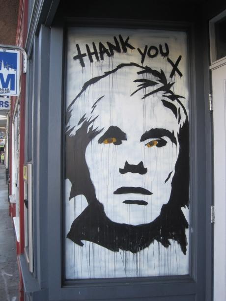 Art Game VI:  Andy Warhol-Knockoff