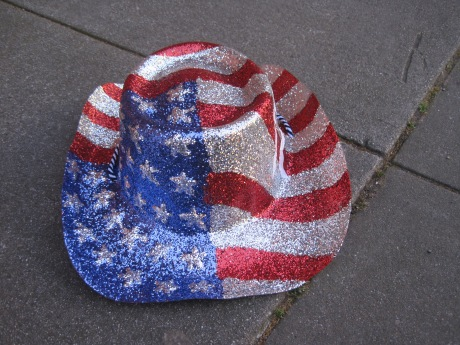 All American Glitter Cowboy Hat Belonging To Glenn Acornn Is All That's Left!