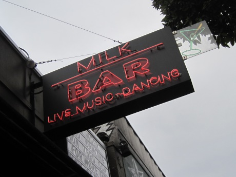 Let's dance to dairy products on Haight Street!