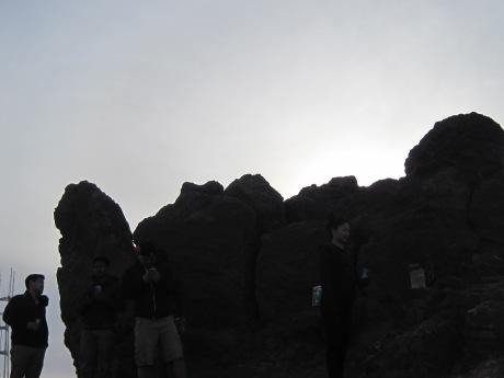 Outline of Corona Heights Rock.