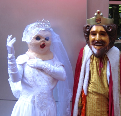 Will Holy Matrimony give equality to the Bonaparte Princess & the King of Burgerland?