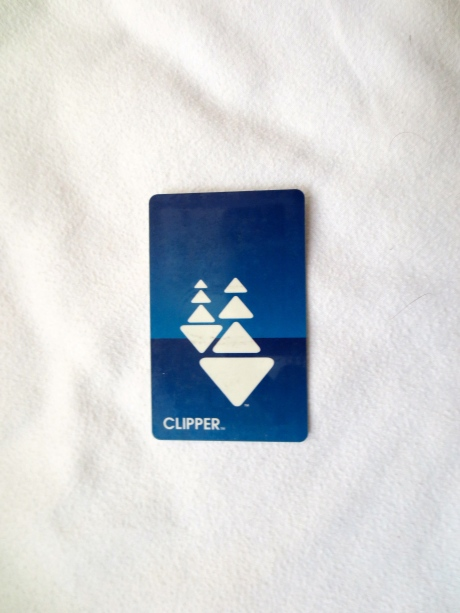 "Her Serene Highness, The Princess Melita Bonaparte, has bestowed upon Clipper Card, ""Worst Case Scenario Since Waterloo Award."""
