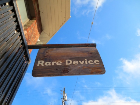 RARE DEVICE-600 Divisadero Street, San Francisco. The bus will get you here.  It really will.