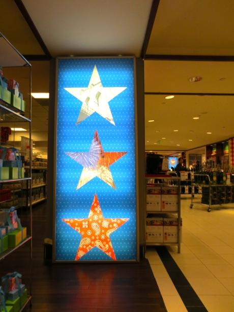 Start with stars.