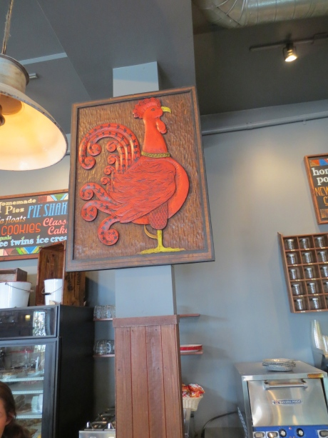 Mister Rooster at your service-601 Baker Street.