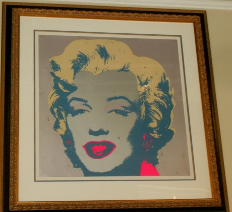 In the case of Marilyn Monroe, Andy Warhol's prediction about 15 Minutes Of Fame did not apply to Marilyn Monroe.  This  is a numbered limited edition of