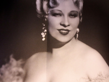 Mae West (1993-1980) in all her glory, unlike the French Revolution, she had her cake, the men kept their heads, and all lived happily ever after.