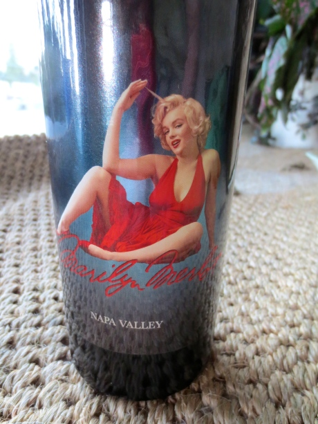 "On the revers of this 2010 vintage it says, ""Marilyn Monroe is a trademark of the Estate of Marilyn Monroe LLC."""