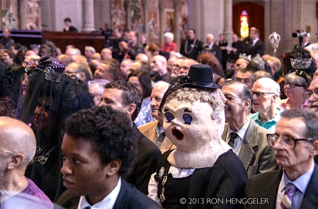 Her Imperial Highness, The Princess Melita Bonaparte, in attendance of the State Funeral of Jose Sarria, Empress of San Francisco.  Photograph by Gracious permission of Ron Henggeller 2013.