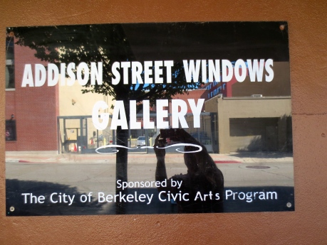Berkeley has some interesting art work not inside Museum walls.  Check out the exterior scene on Addison Street.