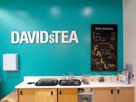 DAVIDsTEA--maYbe theY can turn Fall into the more desirable Autumn-Autumn is a beautiful word that wold do well in the hands of the right calligrapher!