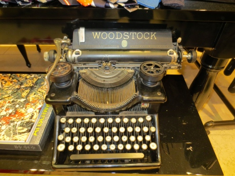 There was Woodstock the Festival & Woodstock the typewriter, both long, both references to the past.