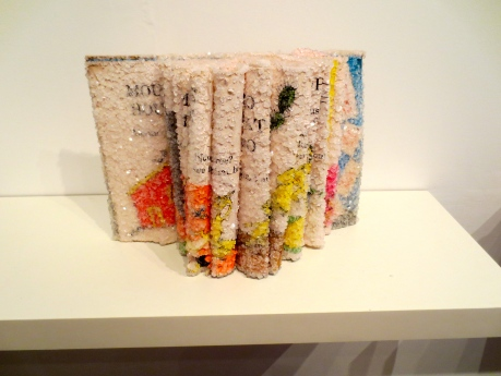 The Art of the Book- by Alexis Arnold-now on display @ the glass door gallery.