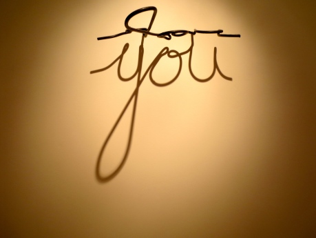 You, a wire sculpture, now featured @ the glass door gallery.