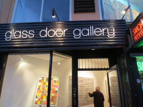 glass door gallery 245 Columbus Street San Francisco.