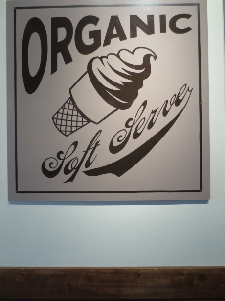 'Organic' is the word used to promote their soft serve ice cream.  Dairy Queen, take note!