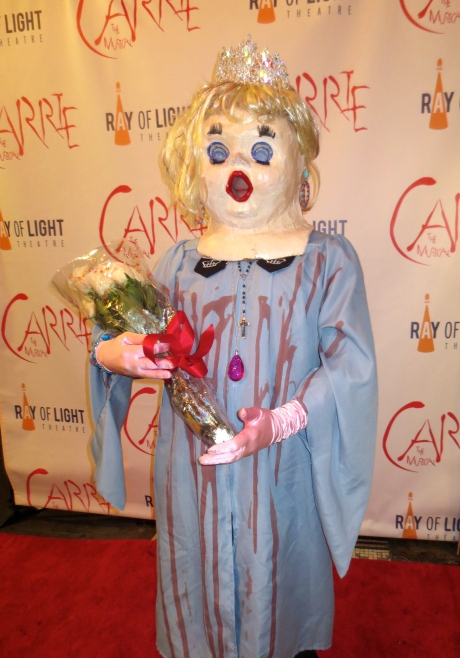 Her Imperial Highness, Princess Melita Bonapare, dressed as Carrie--more frightening than ever!