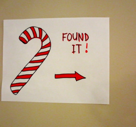 There you are!  We all found it!  Candy Cane Lane, the site of the party!