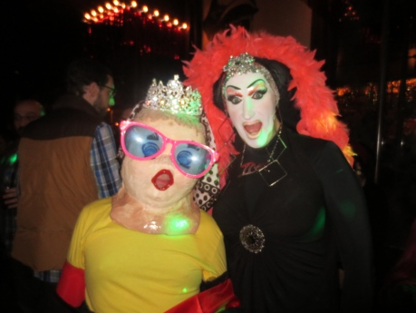 Princess Melita Bonaparte with Sister Roma @ The 40th Spin Around the Sun for Peaches Christ. -3 January 2013