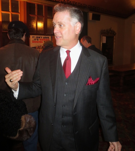 Eddie Muller, writer, film curator, producer, lecturer, visionary, the man who put Noir on the map, and now has taken the concept to higher levels each year since the Noir Festival started 12 years ago.  January 2014