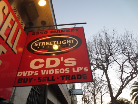 Streetlight Records, they buy, sell, and trade.