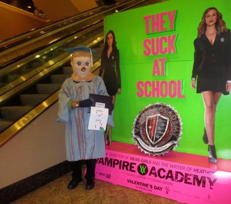 Princess Melita Bonaparte was graduated from Vampire Academy summa cum laude.