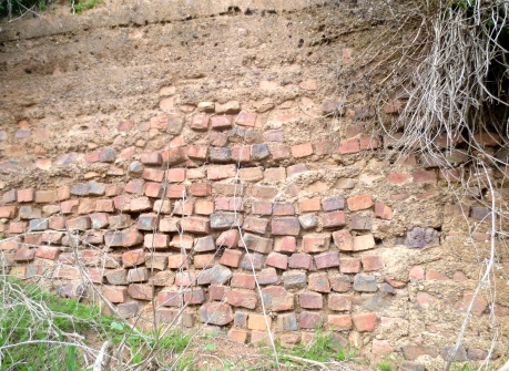 Here is absolute proof that San Francisco was the last part of the Roman Empire.  This wall was bulit under Emperor Hadrian.  It is surprising that National Geographic has not run a scholarly article about this.