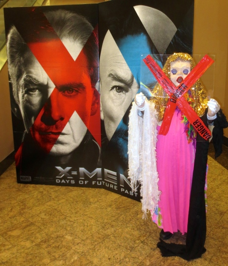 "Her Imperial Highness, The Princess Melita Bonaparte, remains astonished that she did not receive top billing over the title for X-MEN:  Days of Future Past.  ""I day dream all the time,"" she declares."
